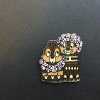DLR - 2008 Hidden Mickey Series - Tiki Gods - Chip & Dale - Disney Pin 62498