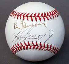 1990-91 KEN GRIFFEY JR. & KEN GRIFFEY SR. Seattle Mariners autographed baseball
