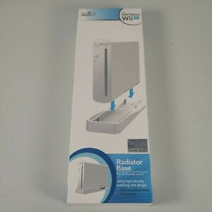 Nintendo Wii U Console Vertical Stand Radiator Base White PEGA Black Brand New