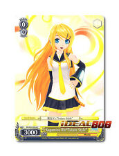 """Weiss Schwarz Project DIVA x 4 Kagamine Rin""""Future Style"""" [PD/S22-E018 C] Englis"""
