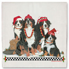Bernese Mountain Dog Christmas Kitchen Towel Holiday Pet Gifts