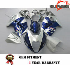 ABS Bule Painted Fairing kit Bodywork for SUZUKI Hayabusa GSX1300R 1999-2007