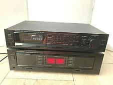 Kenwood Km-207 Power Amplifier and Kenwood Kc-207 Preamplifier.*Nice!*