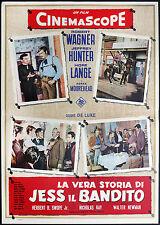 CINEMA-fotobusta VERA STORIA DI JESS IL BANDITO wagner