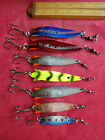 A GOOD COLLECTION OF VINTAGE ABU GARCIA TOBY LURES INCLUDING SALMO EXAMPLES