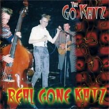 GO-KATZ Real Gone Katz CD - Old School 1980s British Psychobilly - NEW GO KATZ
