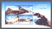 Australian Antarctic Territory mountains min sheet mnh