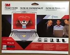 3M PF14.1W Privacy Filter for Notebooks and LCD Monitors - New and Sealed