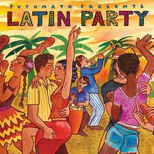 Putumayo World Music Latin Party Salsa, Boogaloo Fiesta Compilation New Wrapped