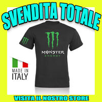 T SHIRT MAGLIA MONSTER DC SHOES IDEA REGALO AUTO MOTO TUNING UOMO DONNA UNISEX