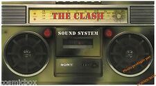 Coffret intégral limité THE CLASH SOUND SYSTEM albums cd dvd livres poster badge