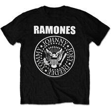 Ramones Presidential Seal Logo Official Rock Metal Music Black Mens T-shirt