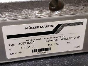 Muller Martini 4052.0020/7012  MEASURING UNIT sensor