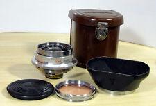 Voigtländer Dynarex 3,4/35 mm 0,4m paquete de accesorios 12 meses garantías top!