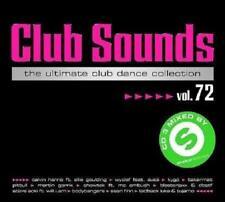 CLUB SOUNDS VOL. 72 * NEW 3CD-SET 2015 * NEU *