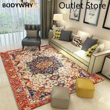 Vintage Rug Home Carpet Moroccan Bedroom Carpet Floor Mat Decor Area Rug