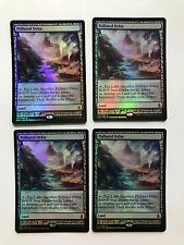 4x Polluted Delta Foil Expedition NM Magic the Gathering MTG Free Shipping