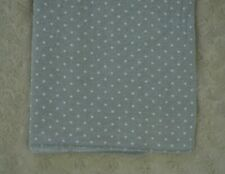 Circo Gray White Polka Dot Baby Blanket Receiving Cotton Flannel