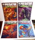 Predator: Bad Blood 4-Issue Comic Book Set- Dark Horse #1-4  UNREAD- FREE S&H