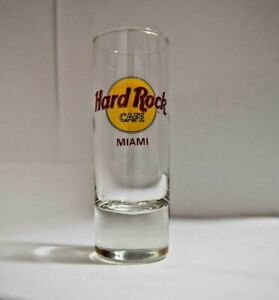 Hard Rock Cafe  Shot Glass Miami Travel Souvenir Shooter