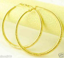 HOT New 9k Gold Filled Fashion Stylish Lady Ear Stud Hoop Earring 473