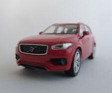 Volvo 2015 XC 90/rojo/Welly/retirada motor/presión fundición Model/1:39/embalaje original/Nuevo