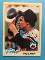 1978 Topps Baseball Card #580 Rod Carew Minnesota Twins