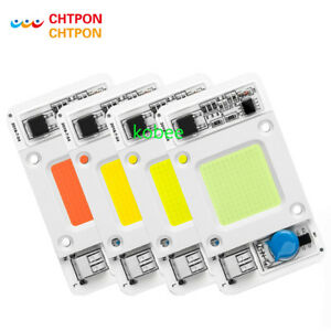 Dimmable LED COB Lamp Chip 50W AC 110V 220V Input Smart IC Driver Fit For LED