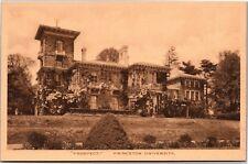 Prospect, Princeton University Vintage Postcard L06