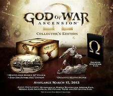 God of War Ascension Collector's Edition PAL Sony PlayStation 3 Ps3