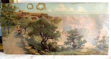 RARE 1906 Orig. PRINT.Louis Aiken Grand Canyon EL  TOVAR HOTEL ANT, REDUCED !!