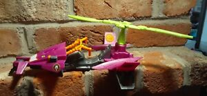 """11"""" DC Comics Missions Batman vs The Joker Missile Launching Helicopter Vehicle"""