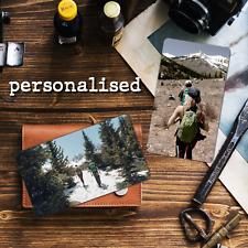 Personalised Photo Metal Wallet Card Purse Keepsake Dad Gift Free Envelope