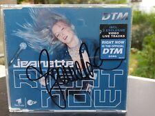 Jeanette Biedermann Maxi-CD mit Autogramm autographed signiert signed Right Now