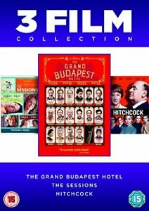 The Grand Budapest Hotel / The Sessions / Hitchcock [DVD] [2014][Region 2]