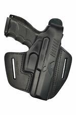 B19 Leder Pistolenholster Gürtel Holster für HK P30 Heckler und Koch H&K