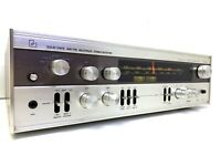 LUXMAN R-800E II Stereo Receiver 80 Watts RMS Vintage 1975 Refurbished Good Look