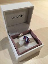 Genuine PANDORA-Rosso, Bianco e Blu Ciondolo 790937
