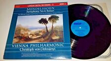 DIGITAL LP MENDELSSOHN DOHNANYI VP SYMPHONY NO. 4 LONDON UK LDR10003 ST NM 1979