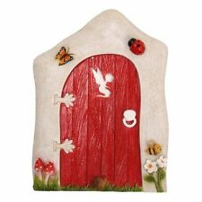 BRAND NEW LARGE FAIRY RED ANIMATED DOOR GARDEN ORNAMENT FAIRIES/PIXIES