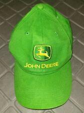John Deere Adjustable Baseball Hat Cap Green Embroidered Youth