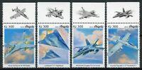 Angola Aviation Stamps 2019 MNH Military Aircraft Lockheed Nighthawk 4v Set