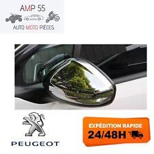 2 CACHES CHROME COQUES RETROS RETROVISEURS pour PEUGEOT 208 2008 2012-18 GT Line