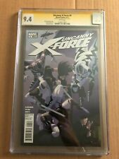 Uncanny X-Force #4 - CGC SS 9.4 - Signed by Rick Remender - Death of Apocalypse