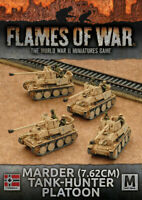 Flames of War German Marder (7.62cm) Tank-Hunter Platoon - GBX101 Mid-War THG