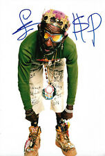 Lee Scratch Perry Reggae signed 8x12 inch photo autograph