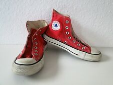 Converse All Star Chucks Sneaker Scarpe Da Ginnastica High Taylor in tessuto rosso tg. 7/40