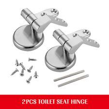 Remplace Réparation Charnière Toilette Latrine Siège Cuvette Fixation Chromé
