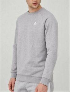 Adidas Originals Grey Heather crew neck sweatshirt size L NEW with tags