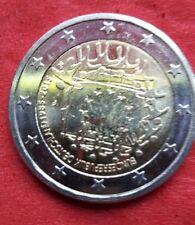 2€ Münze 20 Jahre  Euro Flagge 1985-2015 F
